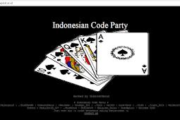 Website Indoxploit di Hack !!
