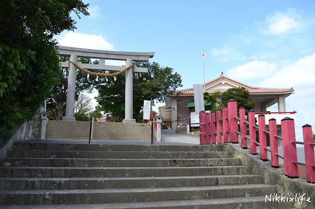 【日本。沖繩】波上宮及波上海灘:參拜神社洗滌心靈。 5