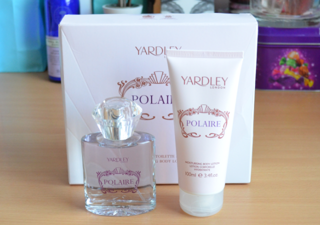 Yardley polaire gift set
