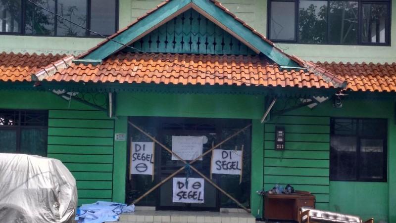 Kantor DPC PPP Jaksel disegel terkait penyimpanan sembako