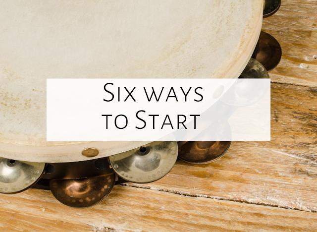 Six Musical Ways to Begin a Class