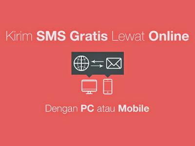 Begini tips tutorial SMS Gratis Tanpa Pulsa Ke Semua Operator Work 2018