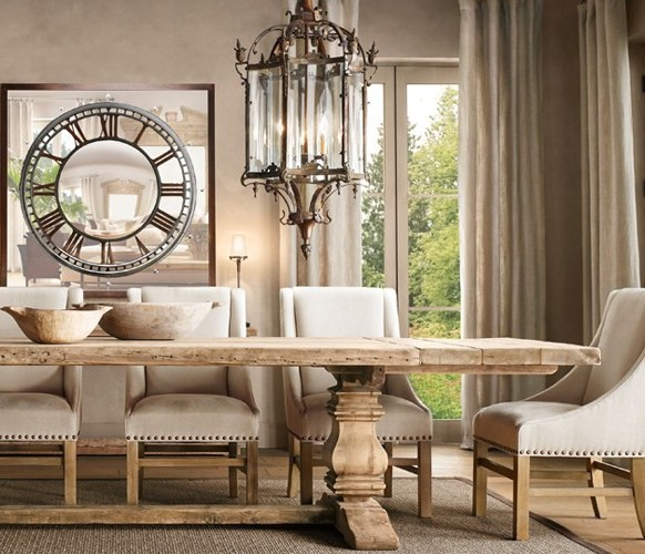 Restoration Hardware Dining Room: Creative Choices Interior(s): Feature Friday
