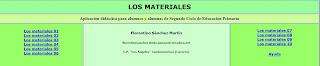 http://cplosangeles.juntaextremadura.net/web/cmedio4/losmateriales/indice.htm