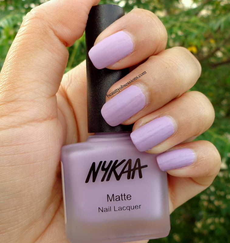 Nykaa Neon Matte Nail Polish Swatches - Creative Touch
