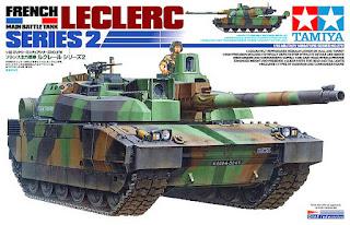 Tamiya char Leclerc 1/35.