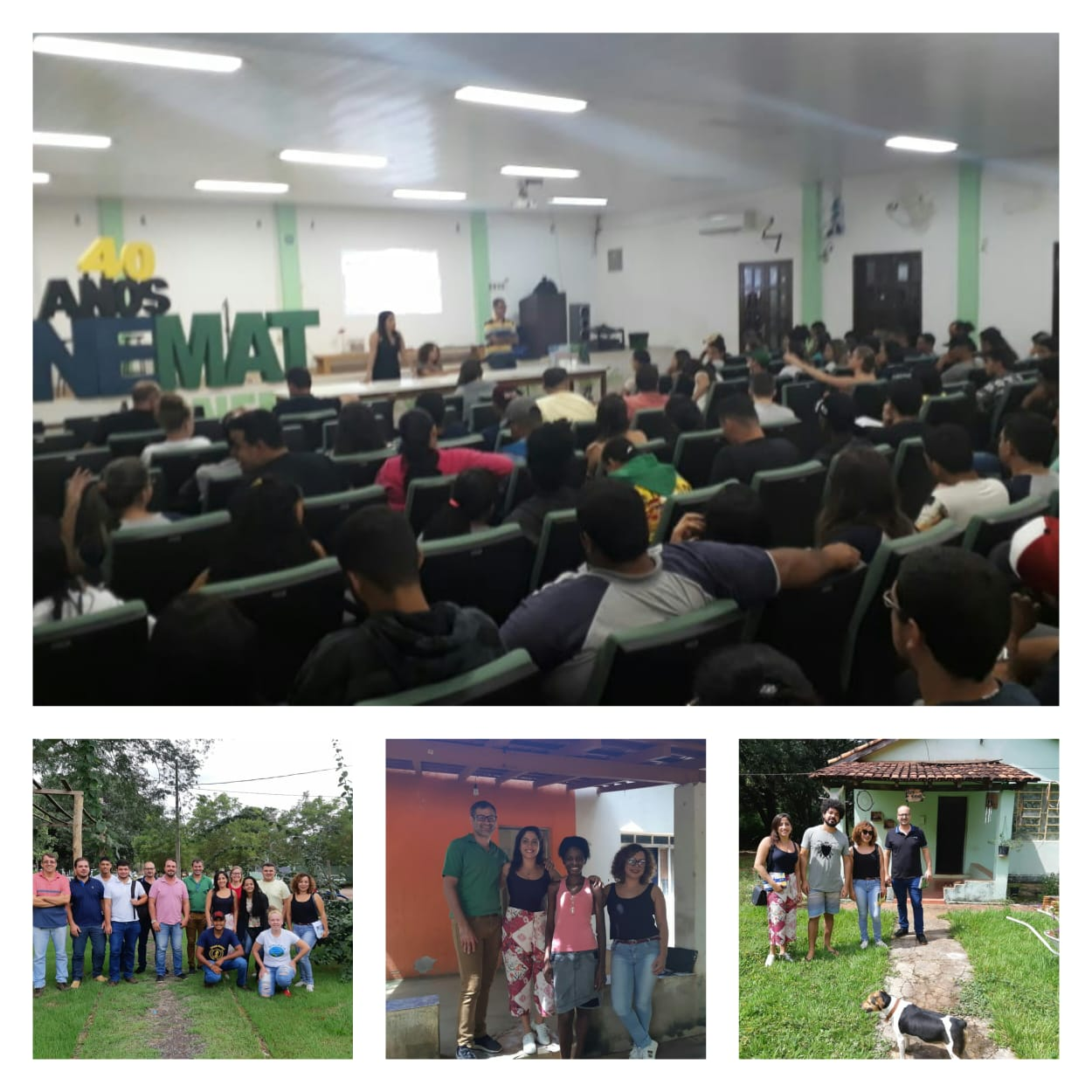 UNEMAT - Câmpus Universitário de Nova Xavantina: Equipe da