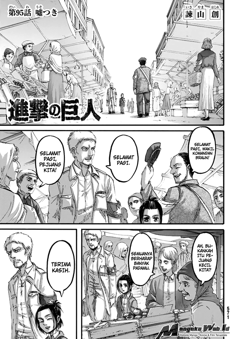 Download Shingeki no Kyojin Chapter 95 Bahasa Indonesia