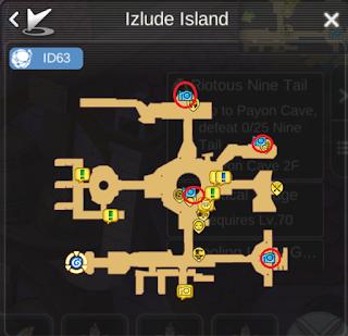 All Scenery Map Izlude Island di Ragnarok Mobile Eternal Love