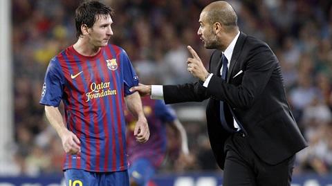 Những năm rực rỡ nhất của Pep gắn liền với Messi.