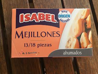 Isabel mejillones ahumados