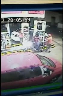 Frentista reage a assalto e pega arma de ladrão em Caicó no RN; veja vídeo