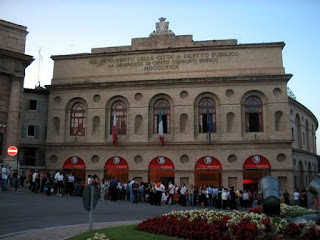 The Arena Sferisterio in Macerata
