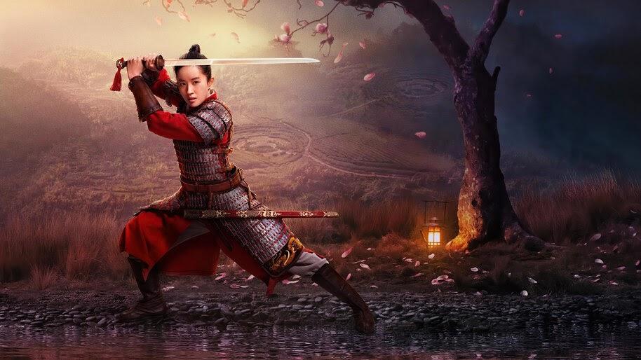 Mulan, 2020, Disney, Movie, Poster, 4K, #7.1618
