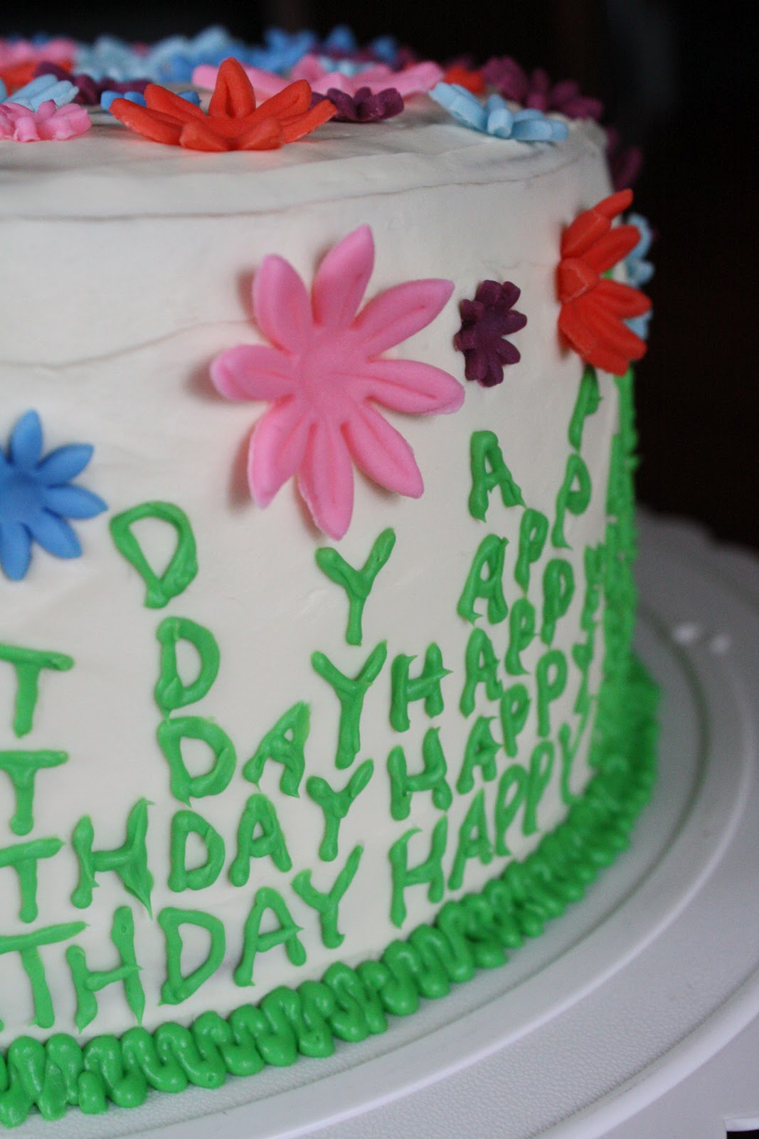 Straight To Cake Mom S Spring Birthday Cake