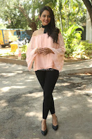 Rakul Preet Singh in lovely Pink Crop Top and Black Trousers at Jaya Janaki Nayaka success meet 058.JPG