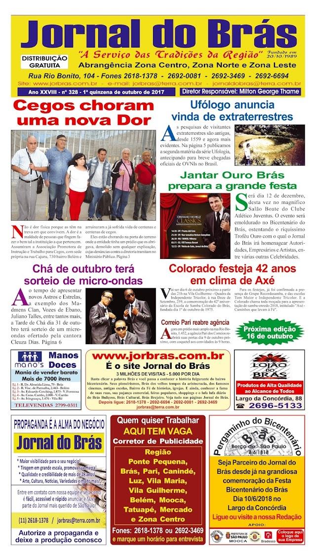 Destaques da Ed. 328 - Jornal do Brás