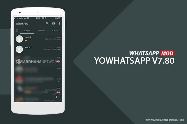 YoWhatsapp V.7.80