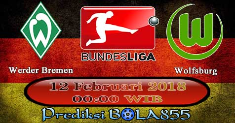 Prediksi Bola855 Werder Bremen vs VfL Wolfsburg 12 Februari 2018
