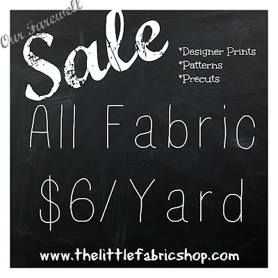 ALL FABRIC ONLY $6/YARD