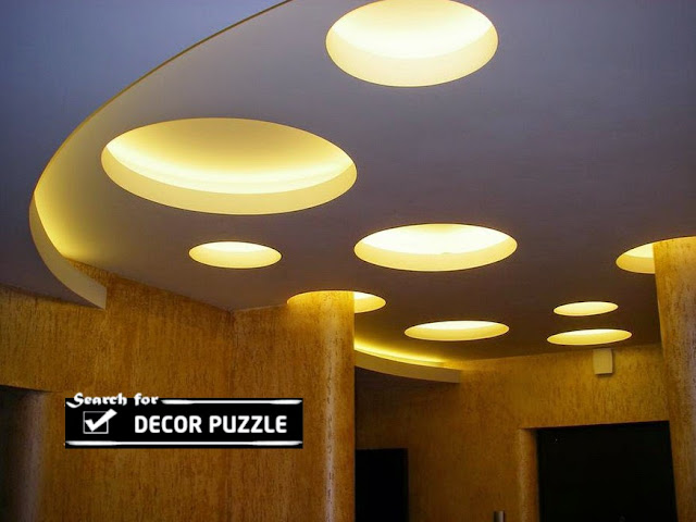 modern false ceiling designs 2018 for living room, decorative ceiling lights