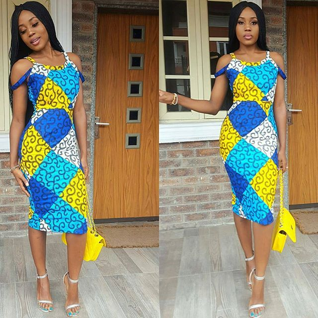 Stunningly Cute Short Ankara Gown Designs for Trendy