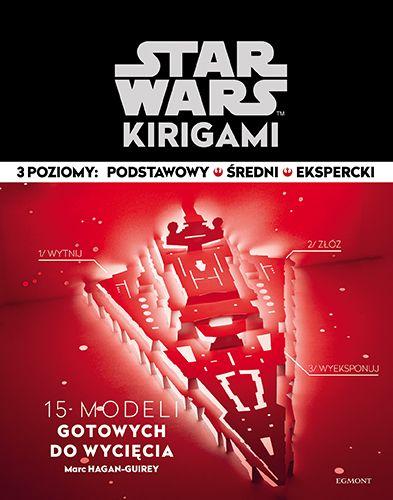Zapowiedź Star Wars: Kirigami od Egmontu