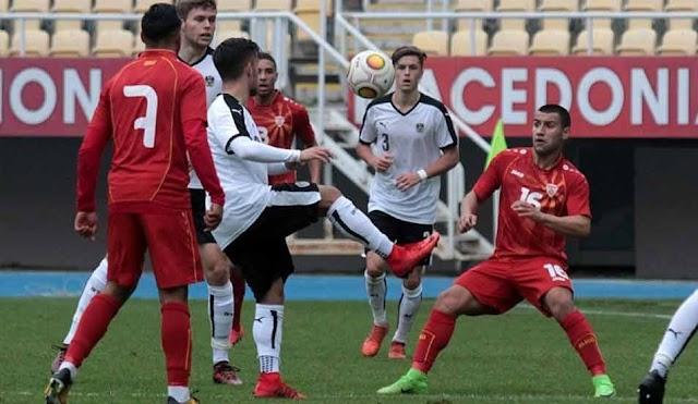 U21 EM Quali: Mazedonien verliert in Österreich