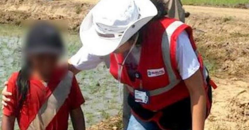 Dron encuentra a menores trabajando en campos de arroz en Tumbes