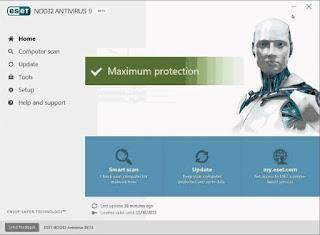 ESET NOD32 AntiVirus 9 Full Serial Key
