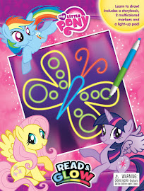 My Little Pony Read & Glow Books