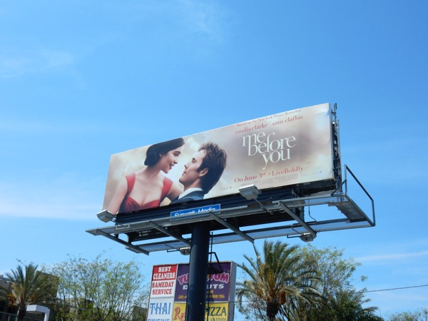 Me Before You movie billboard