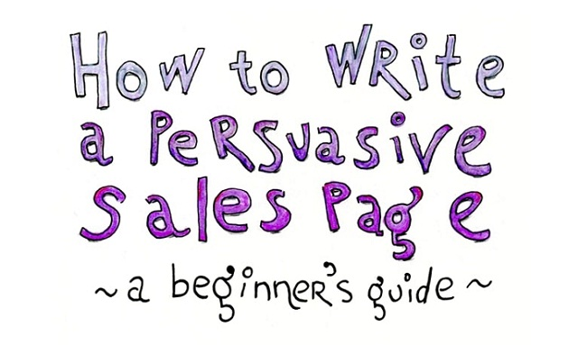 How to Write a Persuasive Sales Page