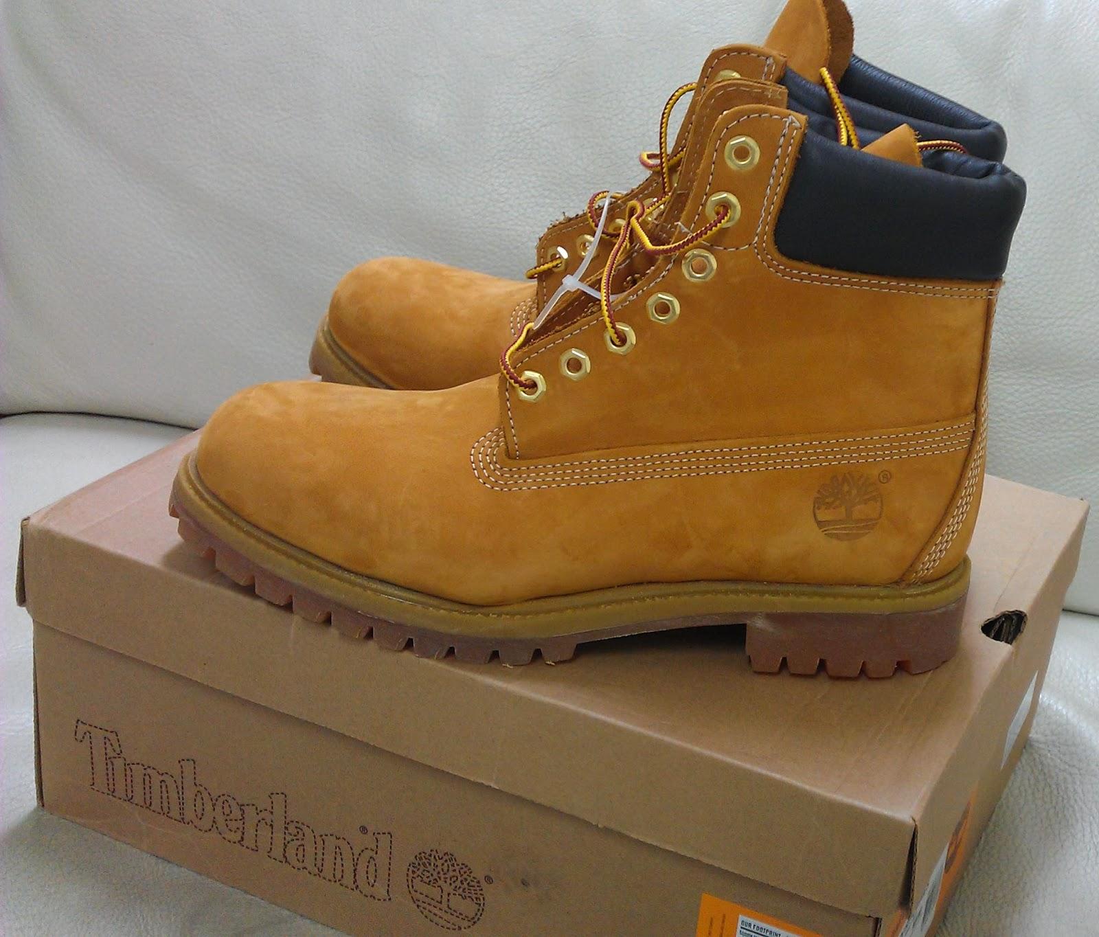 Mi Familia: Costco Timberland 男經典真皮6吋黃靴