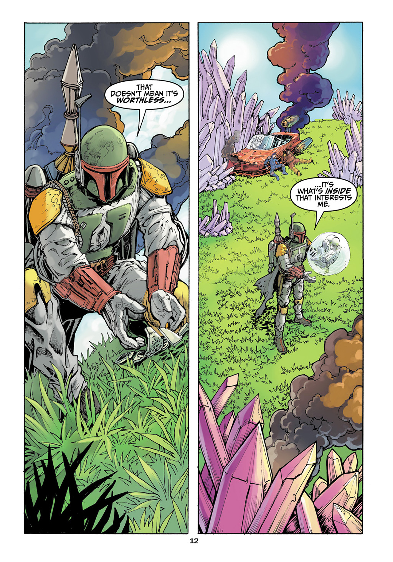 Read online Star Wars Adventures comic -  Issue # Issue Boba Fett and the Ship of Fear - 13