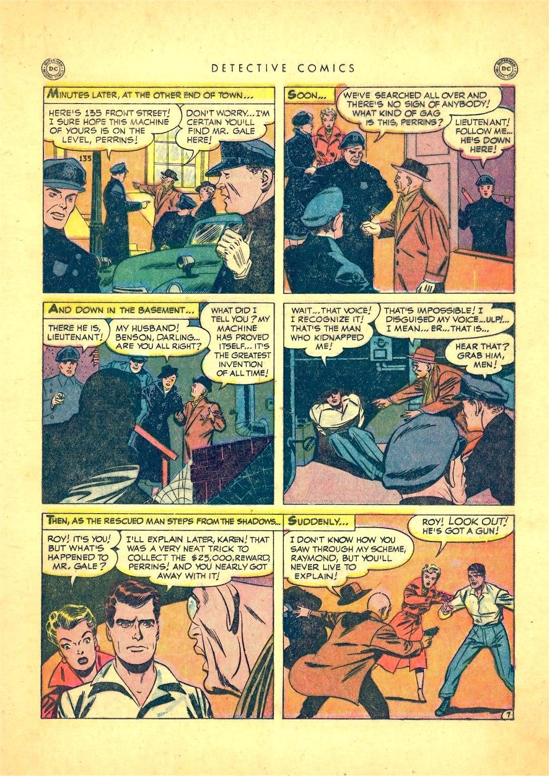 Read online Detective Comics (1937) comic -  Issue #166 - 23
