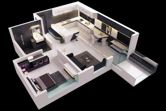 Custom%2BStylish%2BModern%2BHouse%2B3D%2BFloor%2BPlans%2B%2B%25286%2529 Customized Trendy Trendy Space 3-D Ground Plans Interior