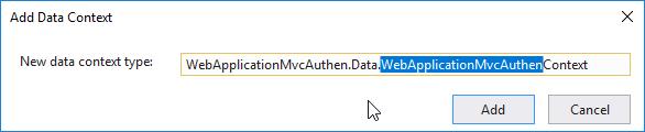 Data context class