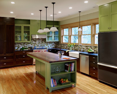 Cozinha Branca com Verde  Decorando a Casa
