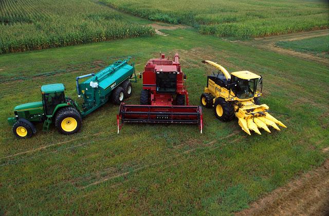 KTAT : Sử dụng an toàn hệ thống thủy lực trên máy nông nghiệp