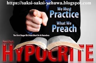 praktek munafik dan dusta organisasi saksi yehuwa untuk propaganda penyesatan