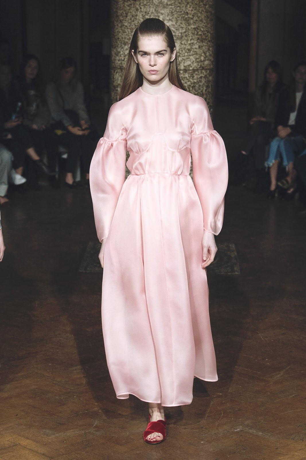 Emilia Wickstead Fall 2017 Fashion Show Details, London Fashion Week, LFW, Runway,