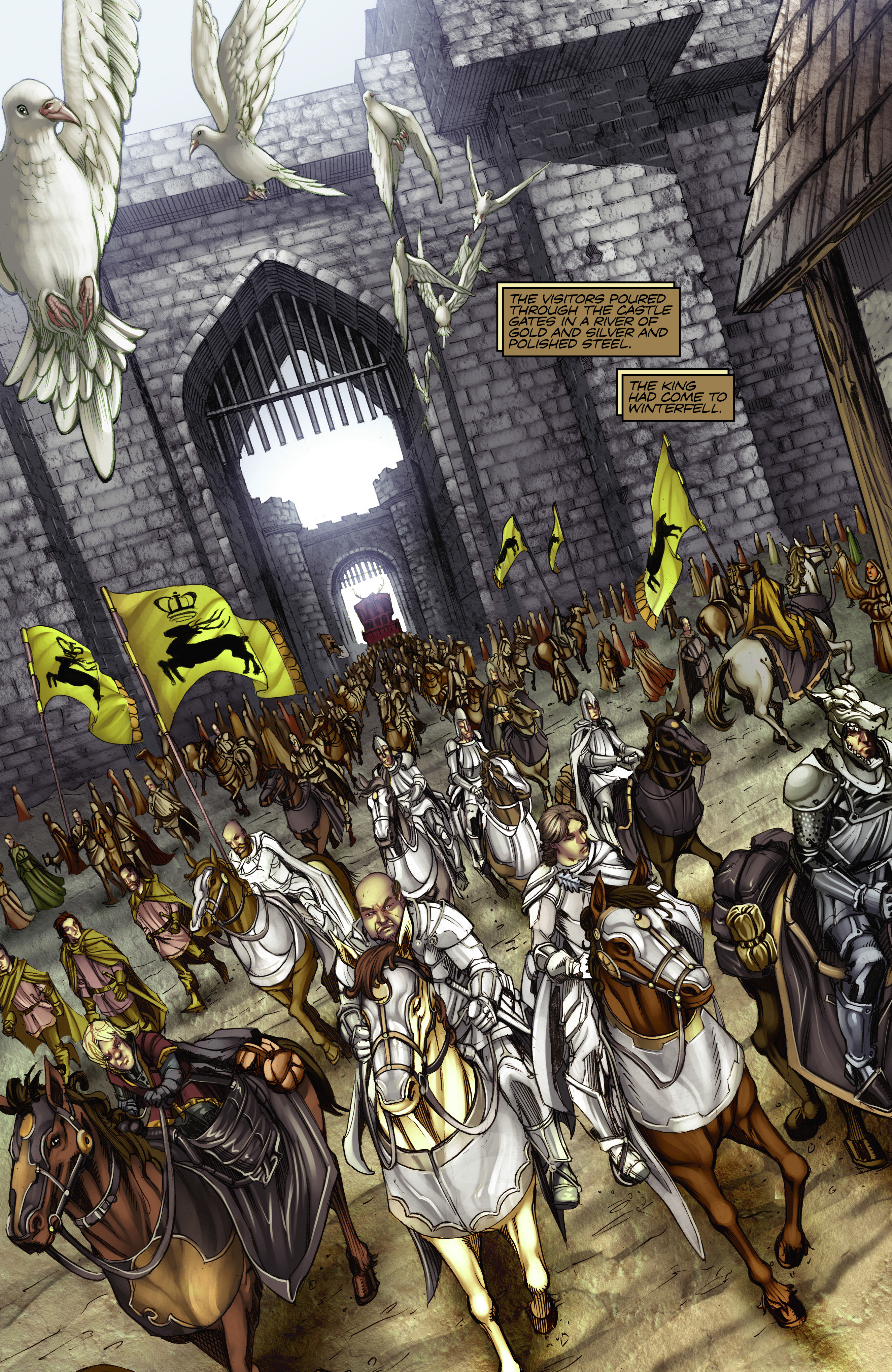 Read online A Game Of Thrones comic -  Issue #2 - 3
