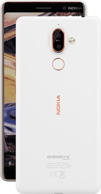 Nokia 7 plus White/Copper