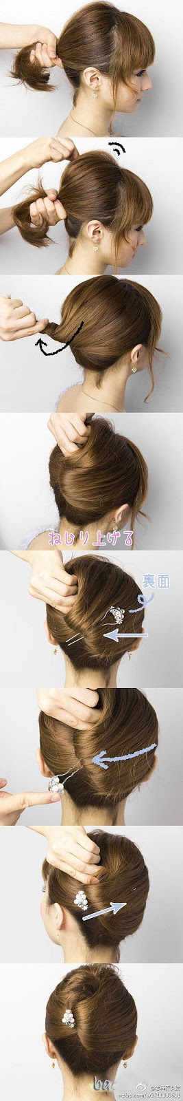 #6 updo for short hair
