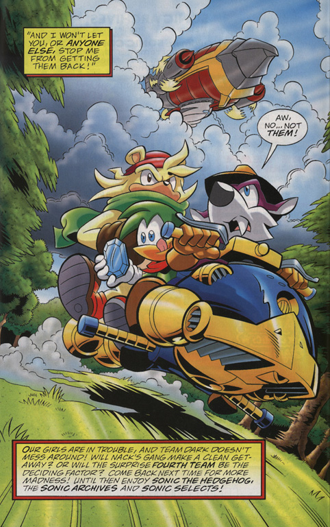 Read online Sonic Universe comic -  Issue #22 - 23