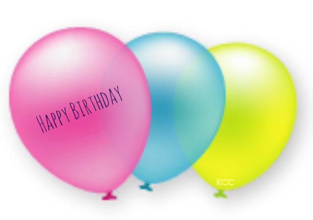 Cute Birthday Party Balloon Clip Art Printable