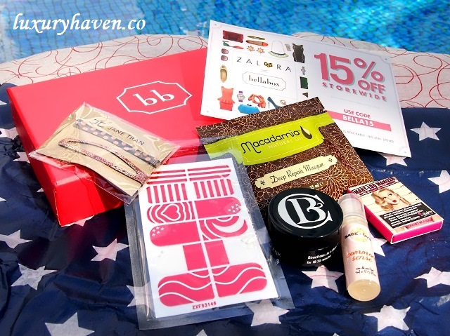 bellabox american beauty shopping review