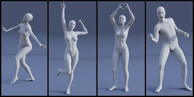 Rock On!! Poses for Genesis 3 Male and Female