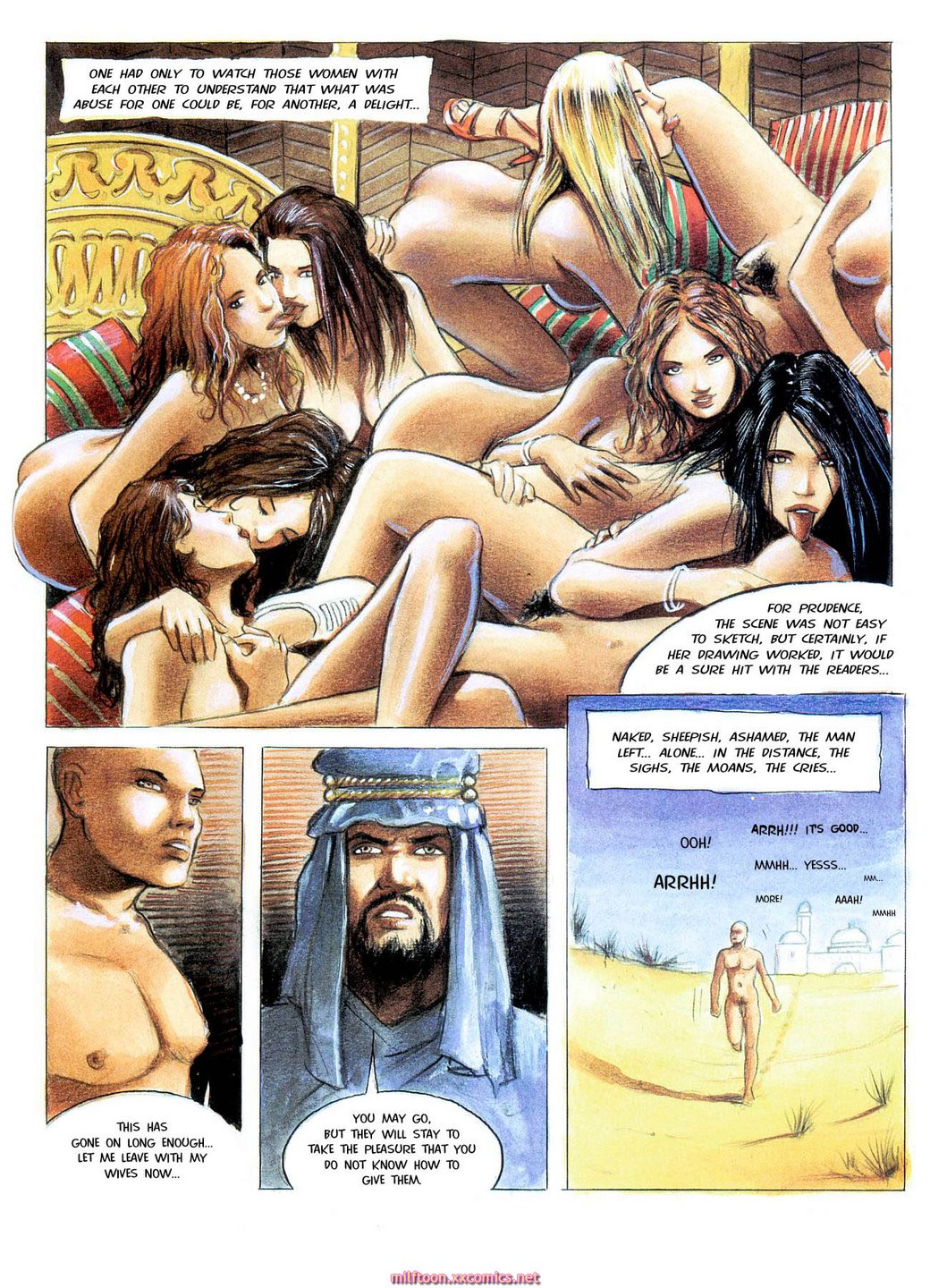 Free Sex Comics Sexual Hostage In The Desert-2881
